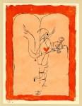 Lot #564: PAUL KLEE - Erfüllung - Original color silkscreen