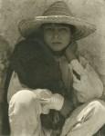 Lot #2246: PAUL STRAND - A Boy, Hidalgo - Original photogravure