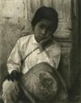 Lot #2176: PAUL STRAND - Boy, Uruapan - Original photogravure