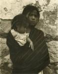 Lot #2021: PAUL STRAND - Girl and Child, Toluca - Original photogravure