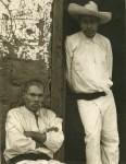 Lot #1874: PAUL STRAND - Men of Santa Anna, Michoacan - Original photogravure