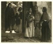 Lot #1503: PAUL STRAND - Women of Santa Anna, Michoacan - Original photogravure