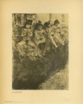 Lot #1025: EDGAR DEGAS - On attend les clientes - Original duogravure, after the monotype