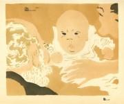 Lot #190: PIERRE BONNARD - Scene de famille - Original color lithograph