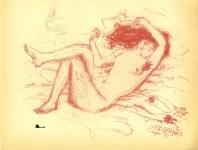 Lot #1003: PIERRE BONNARD - Parallelement - Original color lithograph
