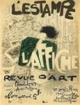 Lot #1157: PIERRE BONNARD - L'Estampe et l'affiche - Original color lithograph