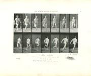 Lot #2204: EADWEARD MUYBRIDGE - Athlete: Running - Original photomezzotint & letterpress