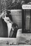 Lot #396: HELMUT NEWTON - Maitresse et chauffeur, Paris - Original photolithograph
