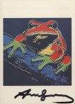 Lot #981: ANDY WARHOL - Pine Barrens Tree Frog - Color offset lithograph