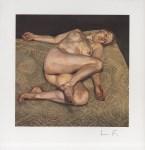Lot #321: LUCIAN FREUD - Night Portrait - Color offset lithograph