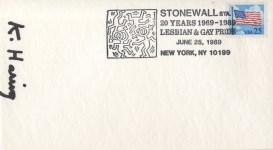 Lot #875: KEITH HARING - Stonewall Station - Offset lithograph