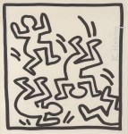 Lot #1700: KEITH HARING - Rumble - Lithograph