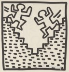 Lot #1644: KEITH HARING - Stairs - Lithograph