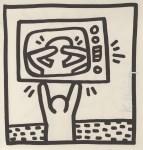 Lot #1560: KEITH HARING - TV Drama - Lithograph