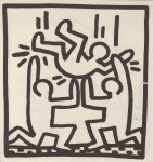 Lot #1790: KEITH HARING - One for All - Lithograph