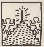 Lot #1765: KEITH HARING - Pinnacle - Lithograph