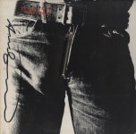 Lot #1641: ANDY WARHOL - Sticky Fingers/Rolling Stones - Color offset lithograph