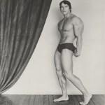 Lot #1458: ROBERT MAPPLETHORPE - Arnold Schwarzenegger - Original vintage photogravure