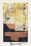 Lot #2031: JEAN-MICHEL BASQUIAT - Galileo Galilei - Color offset lithograph