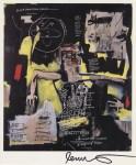 Lot #643: JEAN-MICHEL BASQUIAT - Circulatory System - Color offset lithograph