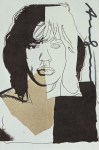 Lot #364: ANDY WARHOL - Mick Jagger #02 (first edition) - Color offset lithograph