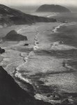 Lot #247: ANSEL ADAMS - Point Sur, Storm, Monterey Coast, California - Original photogravure