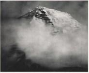 Lot #137: ANSEL ADAMS - Summit of Mount Robson from D. & B. Ranch, Jasper National Park, Canada - Original photogravure