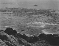 Lot #930: EDWARD WESTON - Rocks, Surf, and Kelp, Point Lobos - Original photogravure