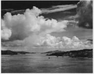 Lot #1250: ANSEL ADAMS - Golden Gate before the Bridge, San Francisco, California - Original photogravure