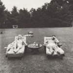 Lot #1294: DIANE ARBUS - Family on Their Lawn One Sunday in Westchester, N.Y - Original vintage photogravure