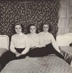 Lot #82: DIANE ARBUS - Triplets in Their Bedroom, N.J - Original photogravure