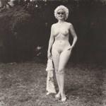 Lot #298: DIANE ARBUS - Nudist Lady with Swan Sunglasses, PA - Original photogravure