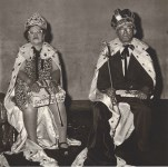 Lot #113: DIANE ARBUS - The King and Queen of a Senior Citizens Dance, N.Y.C - Original vintage photogravure