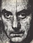 Lot #1673: MAN RAY - Self-portrait with Reticle - Original photogravure