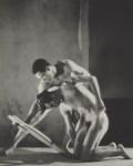 Lot #1014: GEORGE PLATT LYNES - Orpheus: Francisco Moncion and Nicholas Magallanes, Ballet Society - Original photogravure