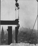 Lot #2075: LEWIS HINE - Empire State Building: Ball & Beam - Original photogravure