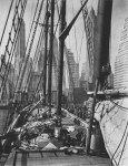 Lot #1575: BERENICE ABBOTT - Theoline, Pier 11, East River between Old Slip and Wall Street, Manhattan, New York - Original photogravure