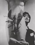 Lot #196: GEORGE PLATT LYNES - Salvador Dali wth Nude and Lobster - Original photogravure