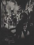 Lot #1158: BRASSAI [gyula halasz] - Les vidangeurs activant la pompe, rue Rambuteau - Original photogravure
