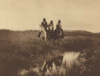 Lot #1982: EDWARD S. CURTIS - In the Land of the Sioux - Original photogravure