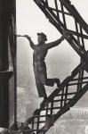 Lot #278: MARC RIBOUD - Painter of the Eiffel Tower, Paris - Original photogravure