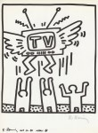 Lot #340: KEITH HARING - Naples Suite #02 - Lithograph