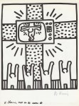 Lot #1843: KEITH HARING - Naples Suite #03 - Lithograph