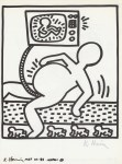 Lot #1076: KEITH HARING - Naples Suite #05 - Lithograph