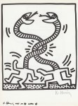 Lot #339: KEITH HARING - Naples Suite #06 - Lithograph