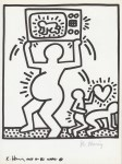Lot #1075: KEITH HARING - Naples Suite #07 - Lithograph