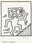 Lot #1074: KEITH HARING - Naples Suite #10 - Lithograph
