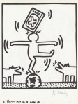 Lot #1073: KEITH HARING - Naples Suite #11 - Lithograph