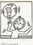 Lot #1072: KEITH HARING - Naples Suite #12 - Lithograph