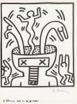 Lot #336: KEITH HARING - Naples Suite #13 - Lithograph